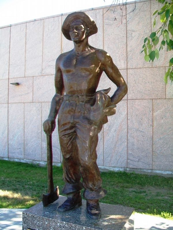 Civilian Conservation Corps Statue image. Click for full size.