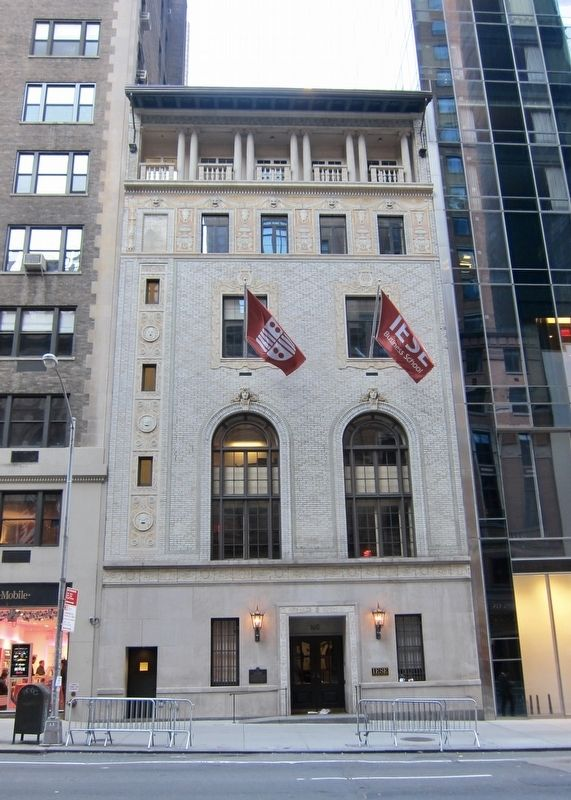 163-165 West 57th Street and Marker - Wide View image. Click for full size.