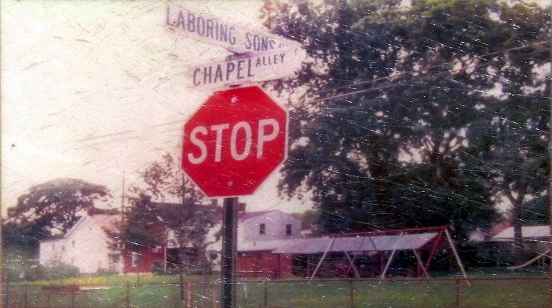 Laboring Sons Alley & Chapel Alley, 2001 image. Click for full size.
