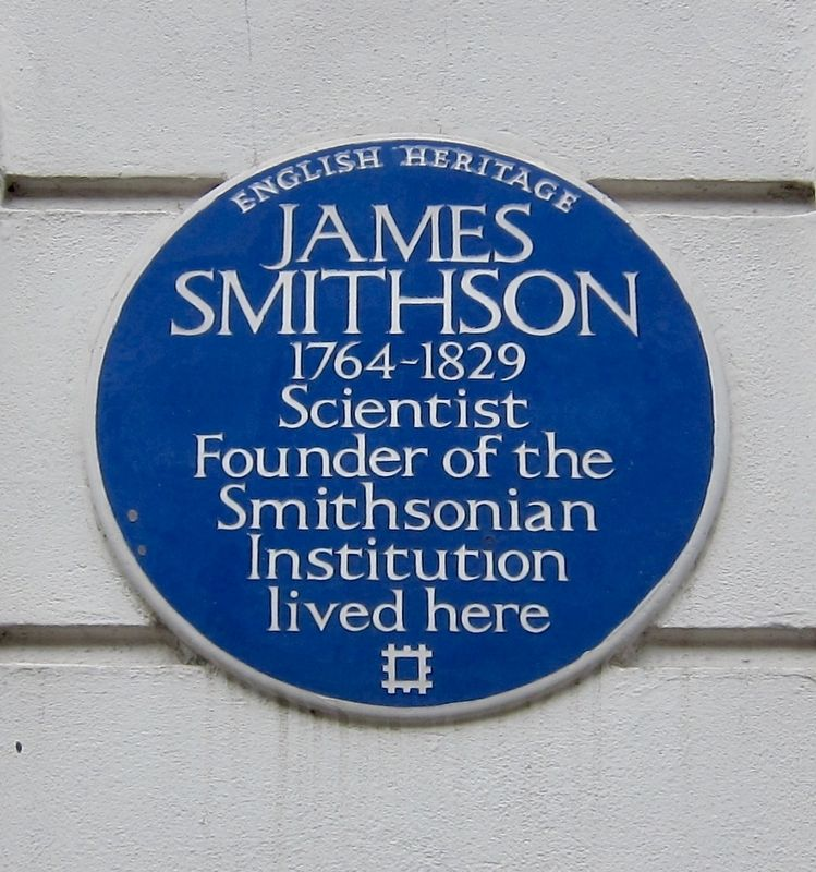 James Smithson Marker image. Click for full size.
