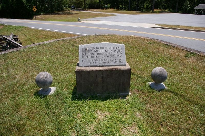 Dedicated to the Confederate Soldiers Marker image. Click for full size.