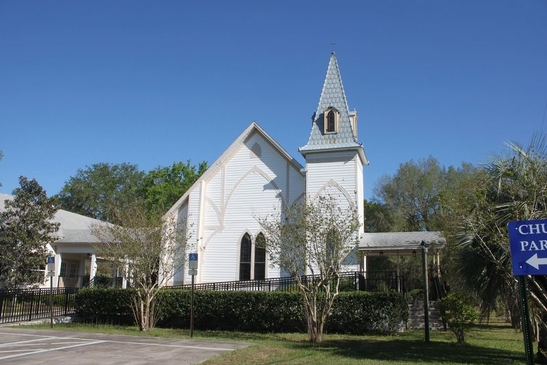 Kanapaha Presbyterian Church image. Click for full size.