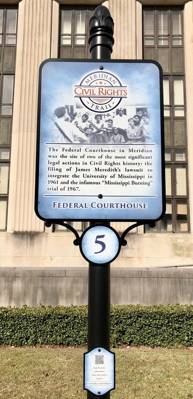 Federal Courthouse Marker image. Click for full size.