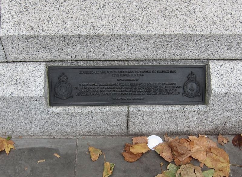 Air Chief Marshal Sir Keith Park (1892 - 1975) Marker Dedication Plaque image. Click for full size.