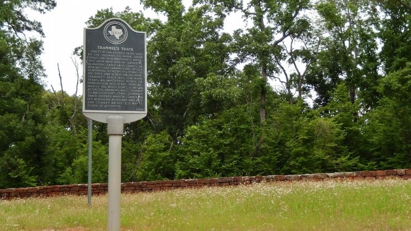 Trammel&#39;s Trace Marker (<i>wide view</i>) image. Click for full size.