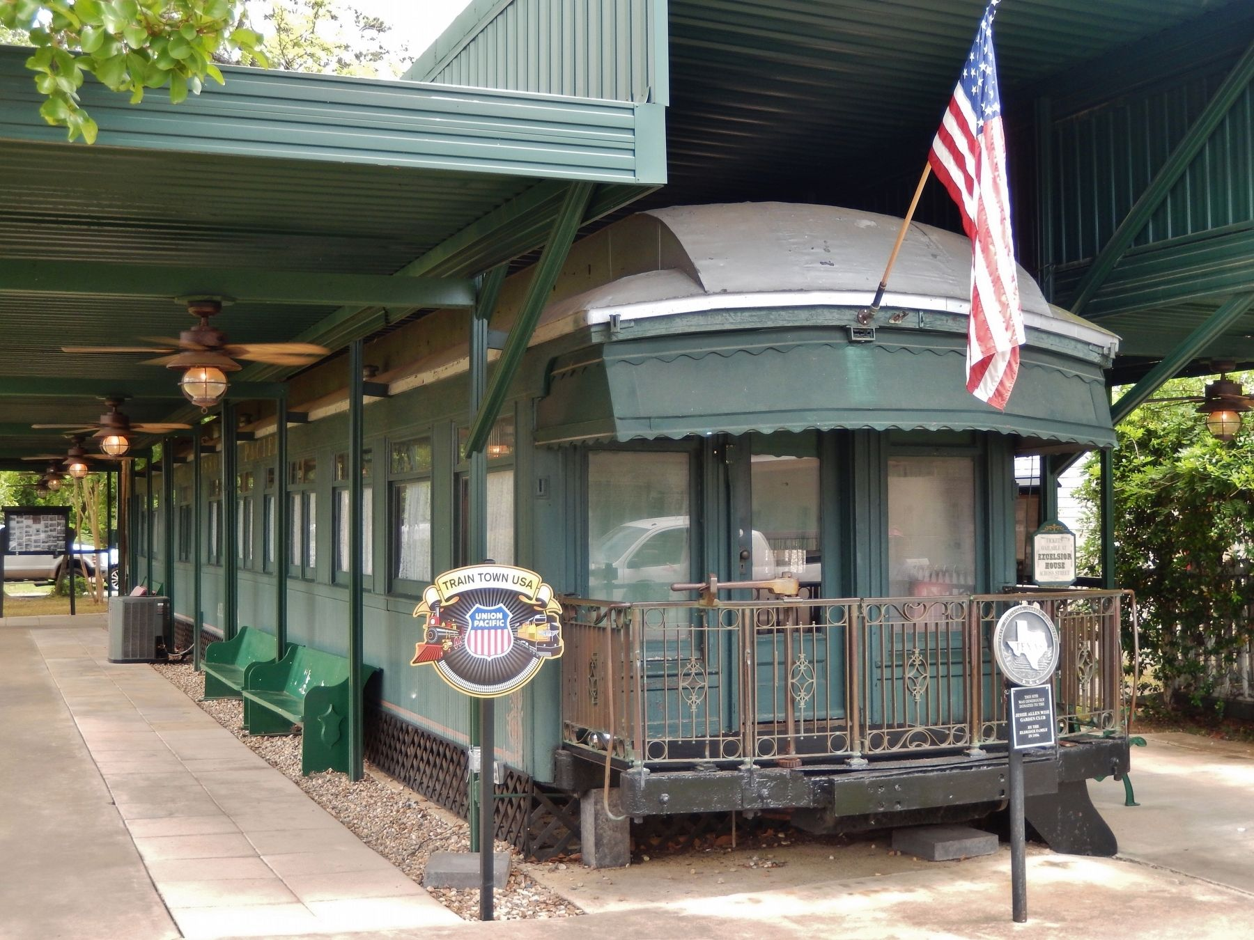 Jay Gould Railroad Car image. Click for full size.