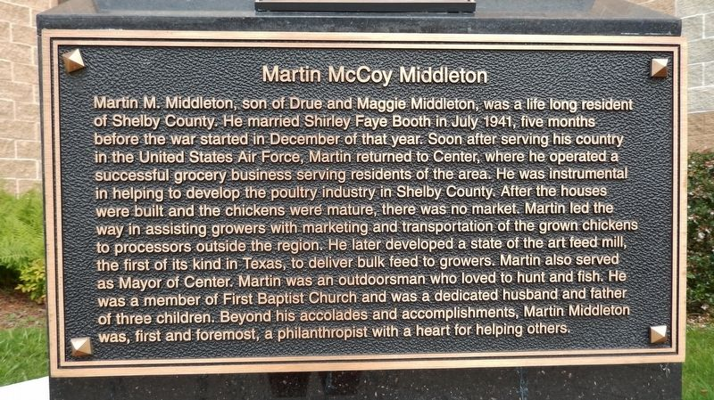 Martin McCoy Middleton Marker image. Click for full size.
