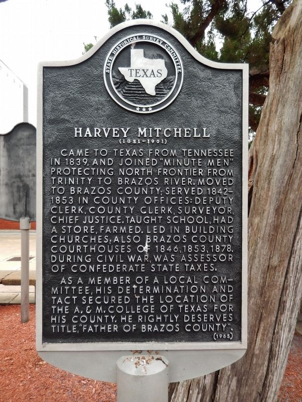 Harvey Mitchell Marker image. Click for full size.