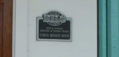 Lyman Mission House image. Click for full size.