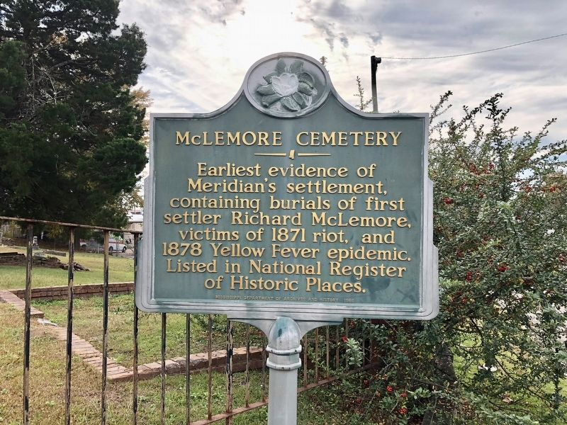 McLemore Cemetery Marker image. Click for full size.