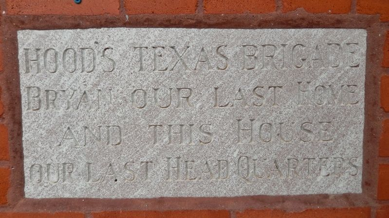 Carnegie Public Library: Hood's Brigade Plaque image. Click for full size.