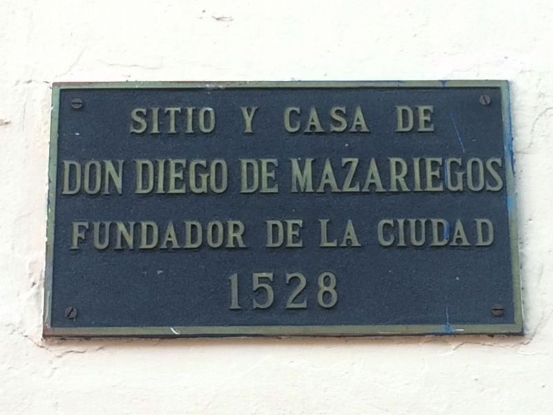An additional Mazariegos House Marker image. Click for full size.