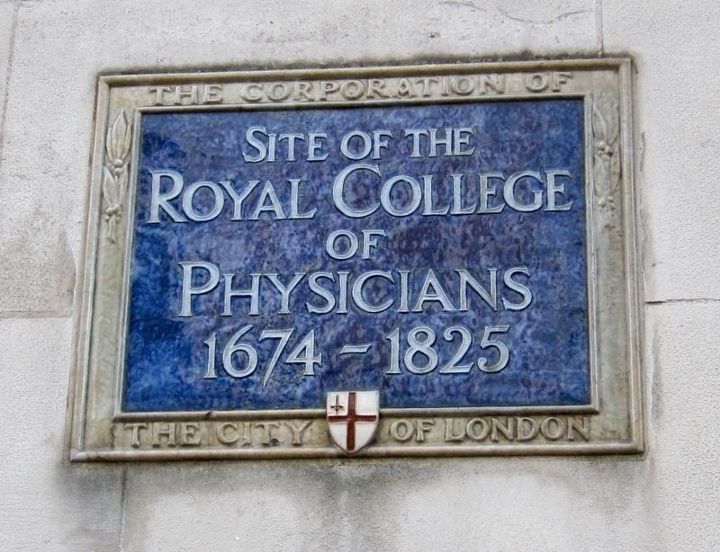 Royal College of Physicians Marker image. Click for full size.