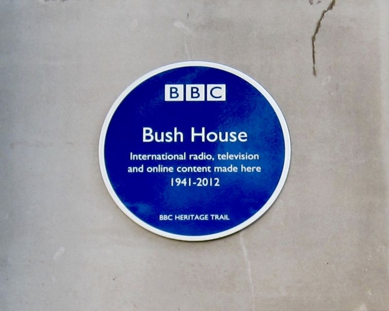 Bush House Marker image. Click for full size.