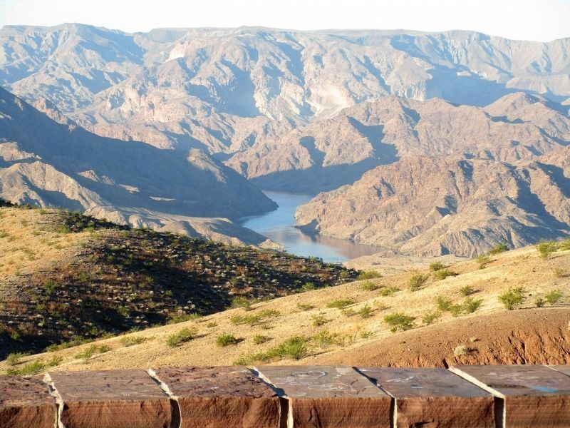 Black Canyon As Seen From the Marker image. Click for full size.