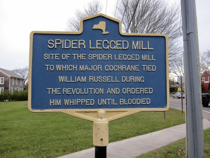 Spider Legged Mill Marker image. Click for full size.