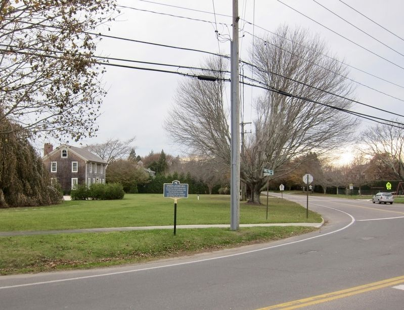 Spider Legged Mill Marker - Wide View image. Click for full size.