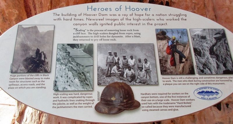 Heroes of Hoover Marker image. Click for full size.