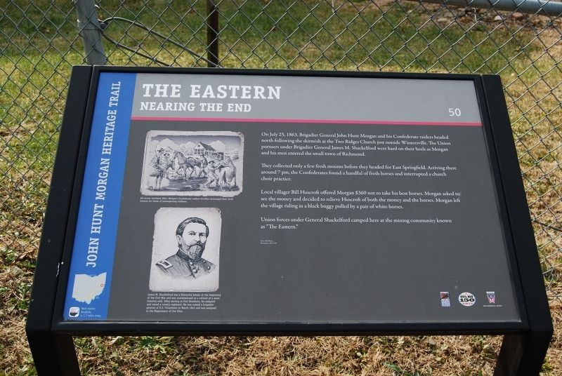 The Eastern-Nearing The End Marker image. Click for full size.
