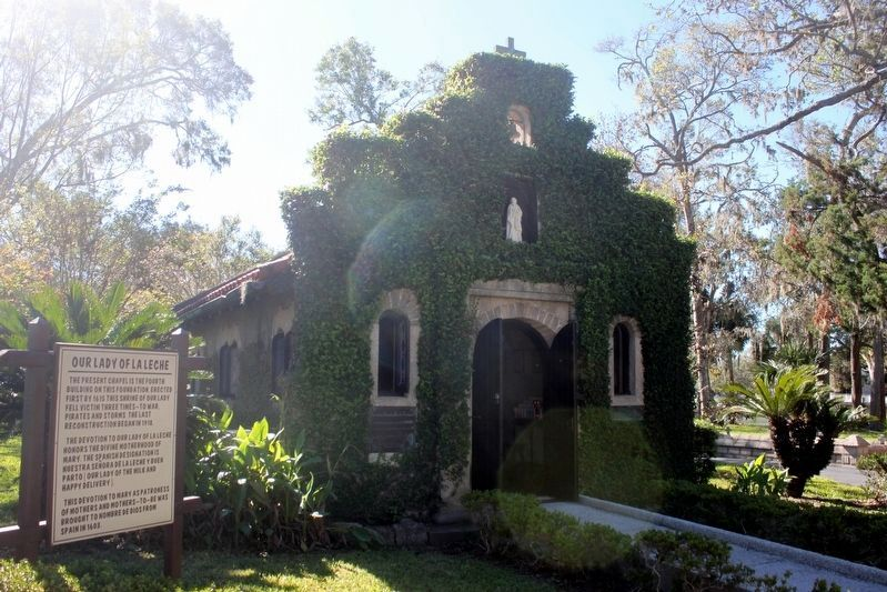 Historic Shrine of Our Lady of La Leche image. Click for full size.