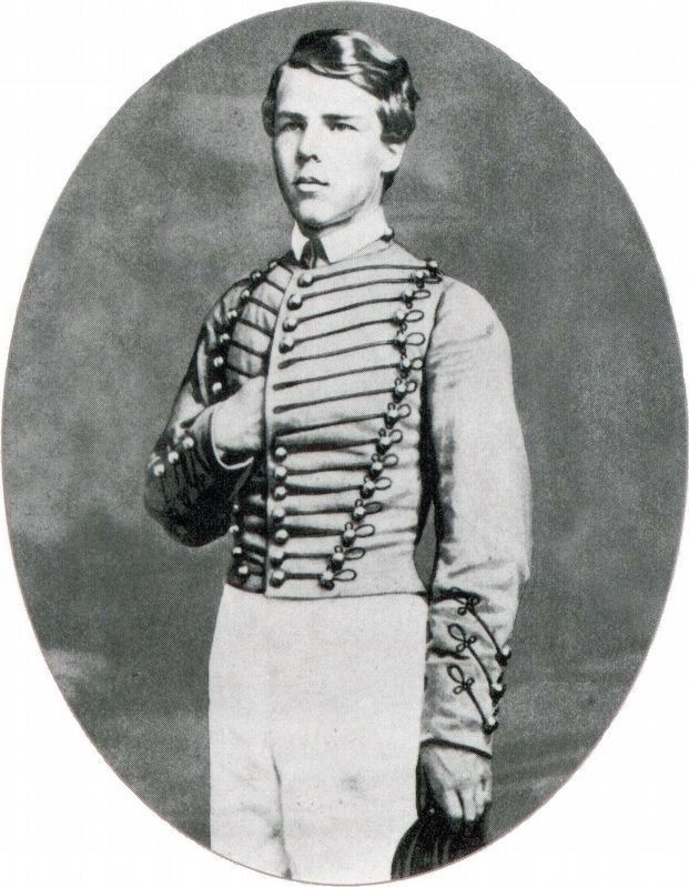 John Rodgers Meigs at West Point, 1859 image. Click for full size.