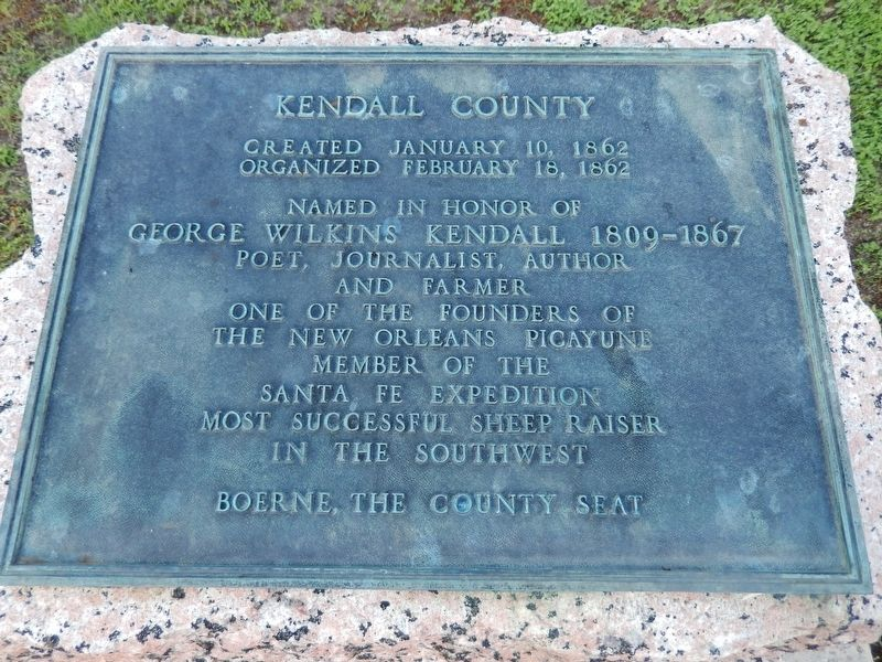 Kendall County Marker image. Click for full size.