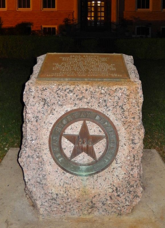 Kerr County Marker image. Click for full size.