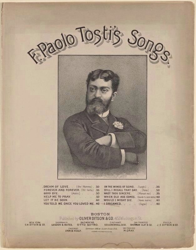<i>F. Paolo Tosti&#39;s Songs</i> image. Click for full size.