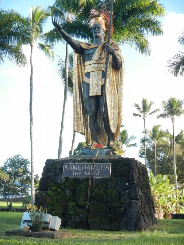 Kamehameha the Great Stature image. Click for full size.