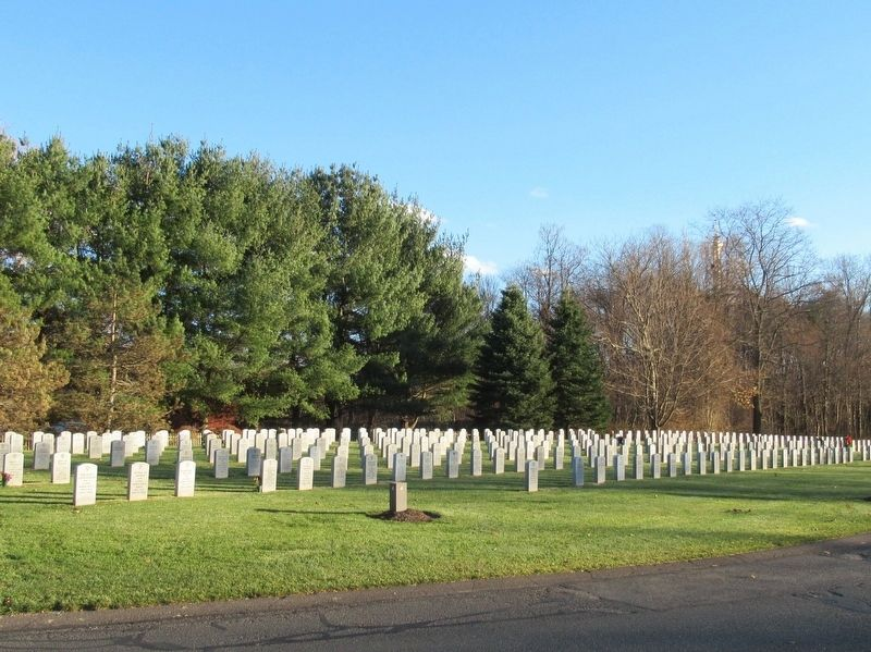 Massachusetts Veterans Memorial Cemetery image. Click for full size.