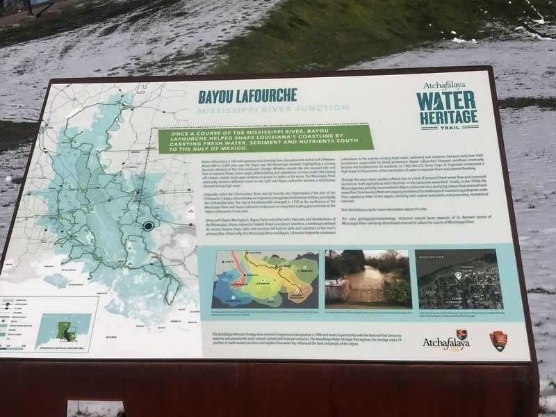 Bayou Lafourche Marker image. Click for full size.