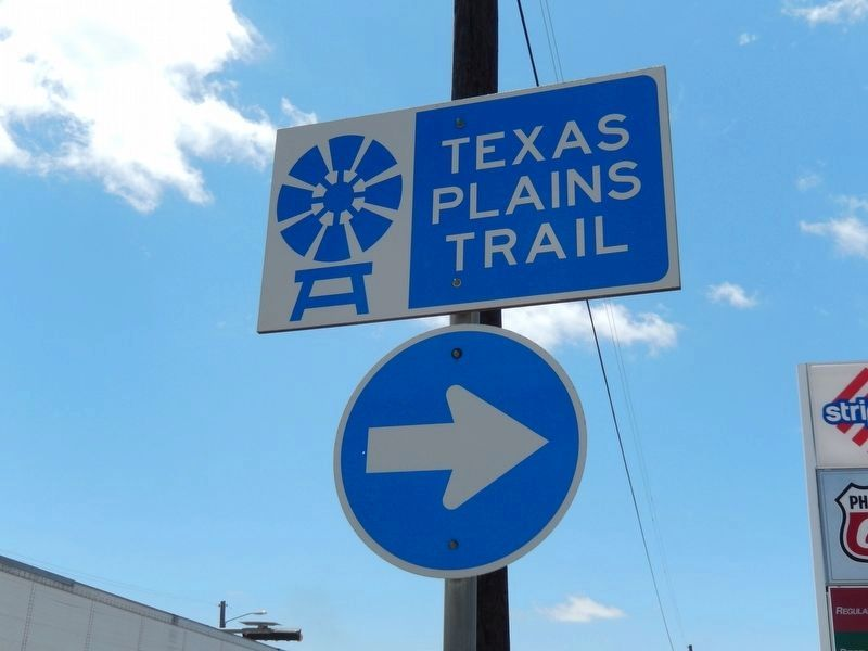 Post Today: Texas Plains Trail image. Click for full size.