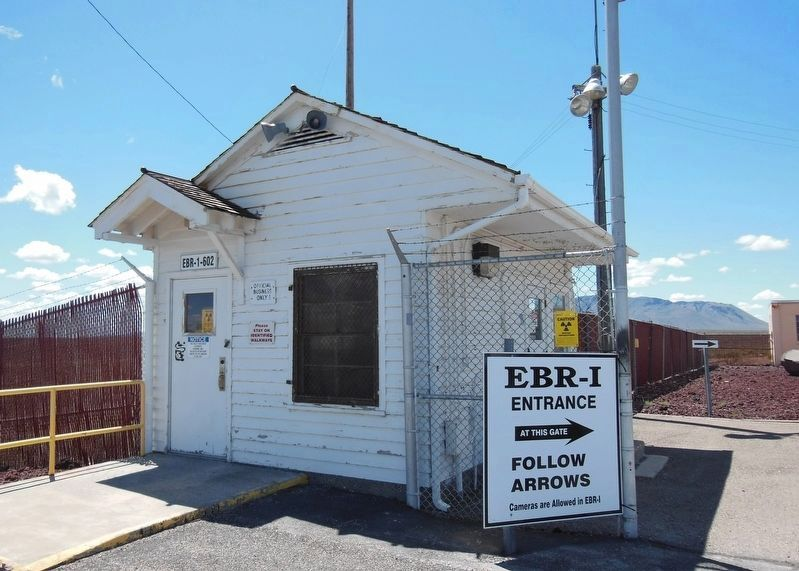 EBR-1 Guard Shack image. Click for full size.