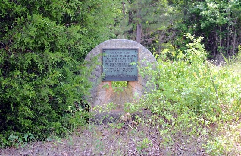 The Isaac Parker Inn Marker image. Click for full size.