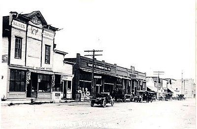 Main Street Haines image. Click for full size.
