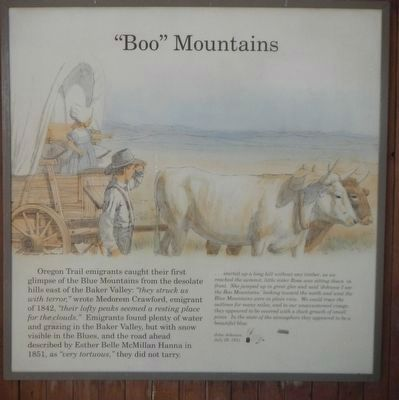 """Boo"" Mountains panel image. Click for full size."