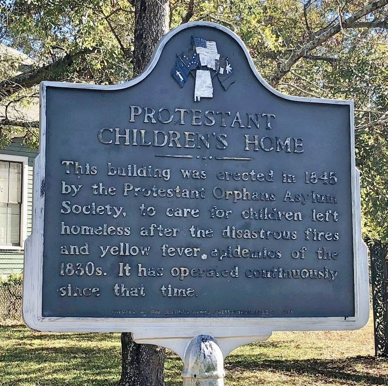 Protestant Children's Home Marker image. Click for full size.
