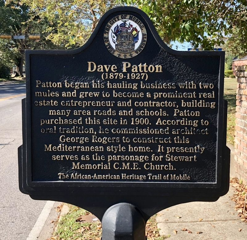 Dave Patton Marker image. Click for full size.