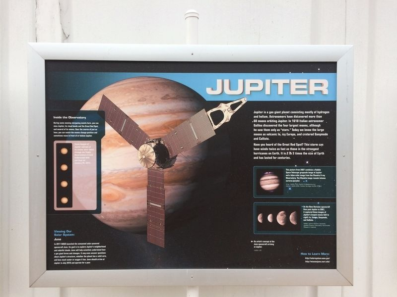 Jupiter Marker image. Click for full size.