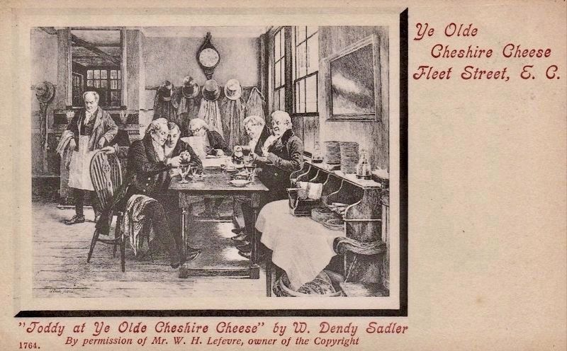 <i>Toddy at Ye Olde Cheshire Cheese</i> image. Click for full size.