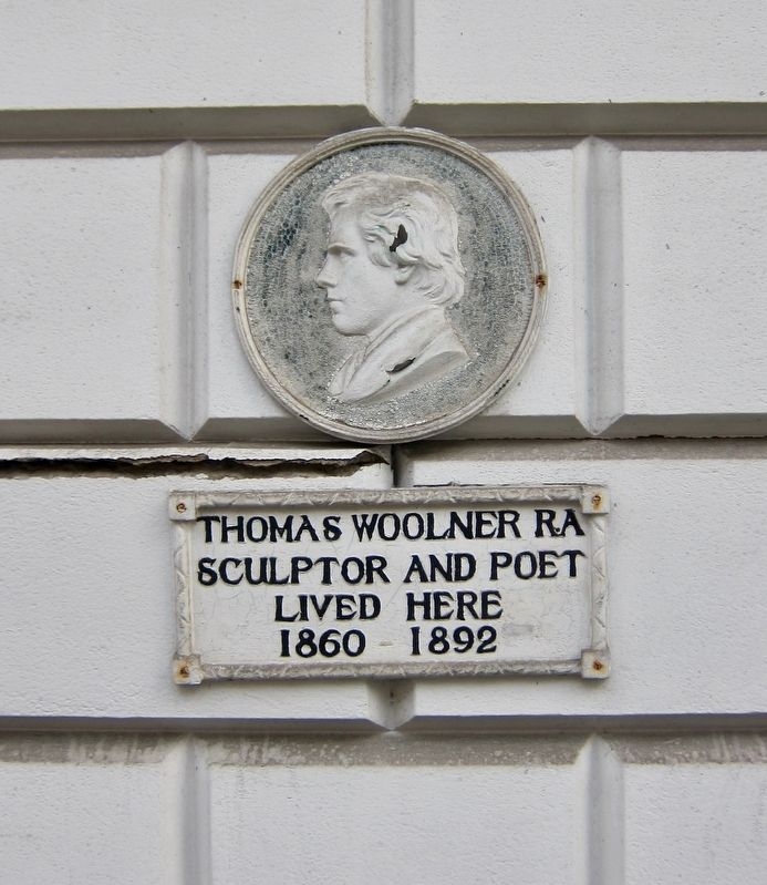 Thomas Woolner Marker image. Click for full size.
