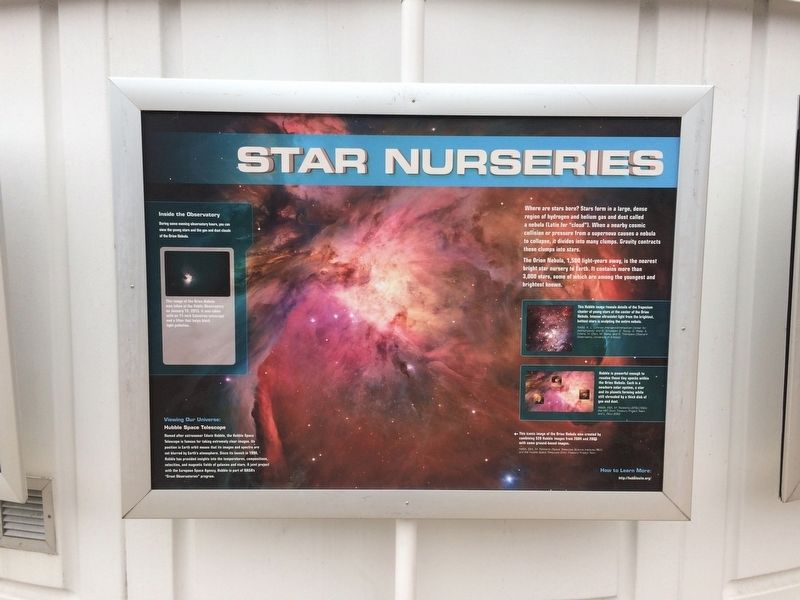 Star Nurseries Marker image. Click for full size.