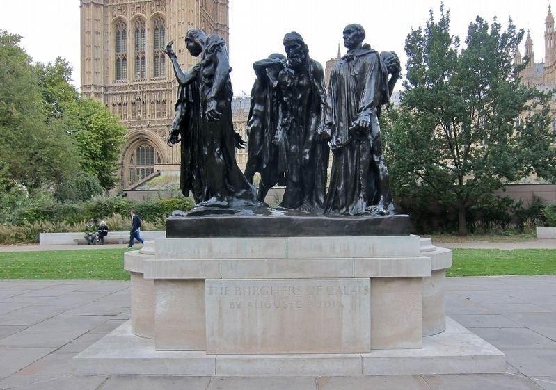 <i>The Burghers of Calais</i> by Auguste Rodin image. Click for full size.