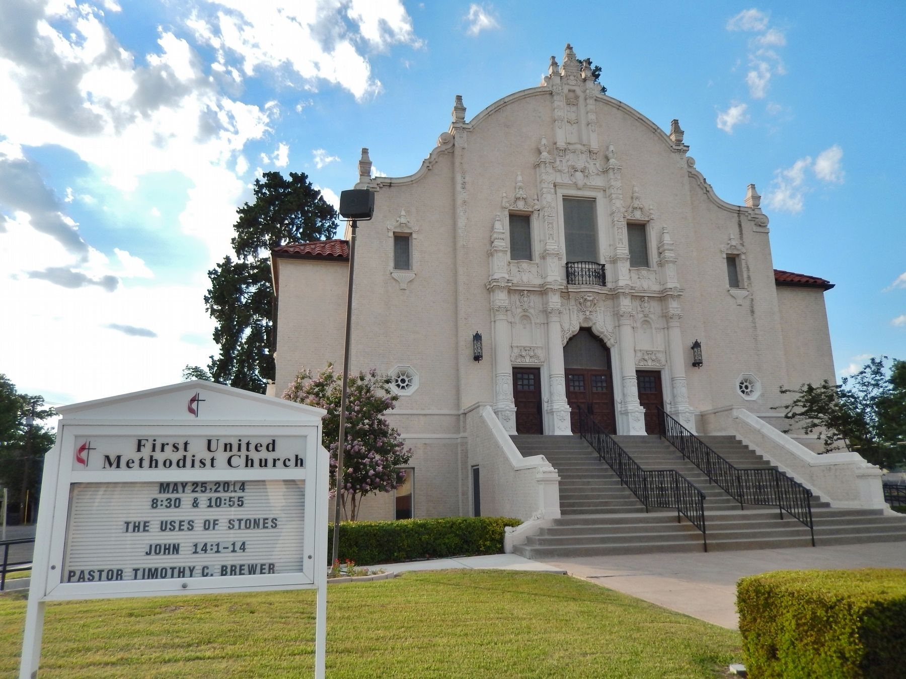 First United Methodist Church of Del Rio image. Click for full size.