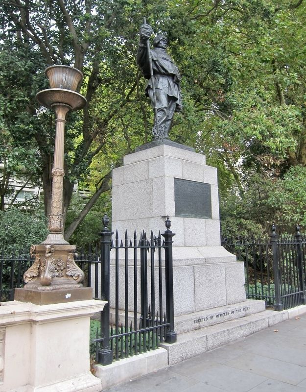 Robert Falcon Scott and Marker - Wide View image. Click for full size.