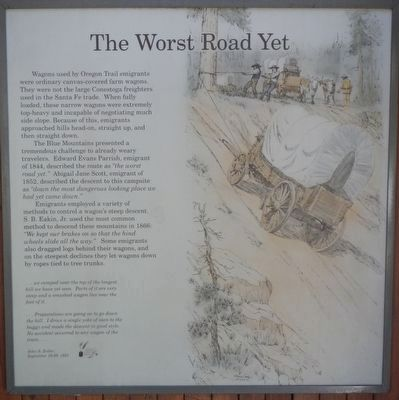 The Worst Road Yet panel image. Click for full size.