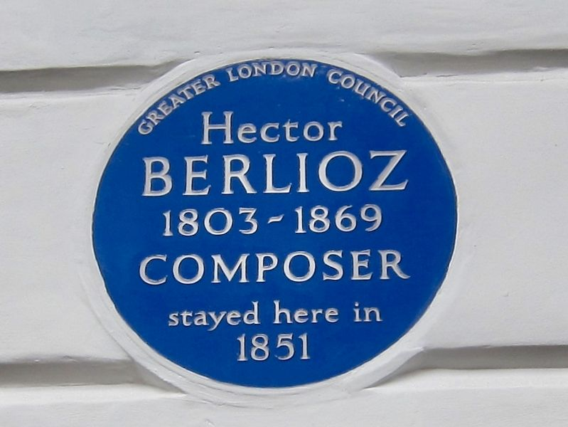 Hector Berlioz Marker image. Click for full size.