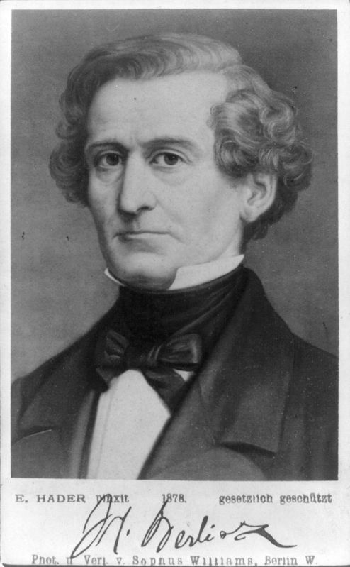 Hector Berlioz image. Click for full size.
