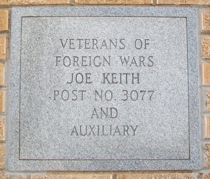 Veterans Building Marker image. Click for full size.