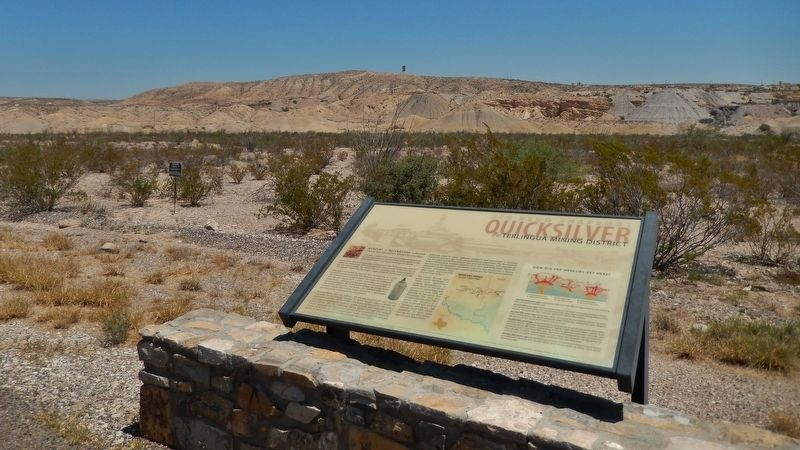Quicksilver Marker (<i>wide view</i>) image. Click for full size.